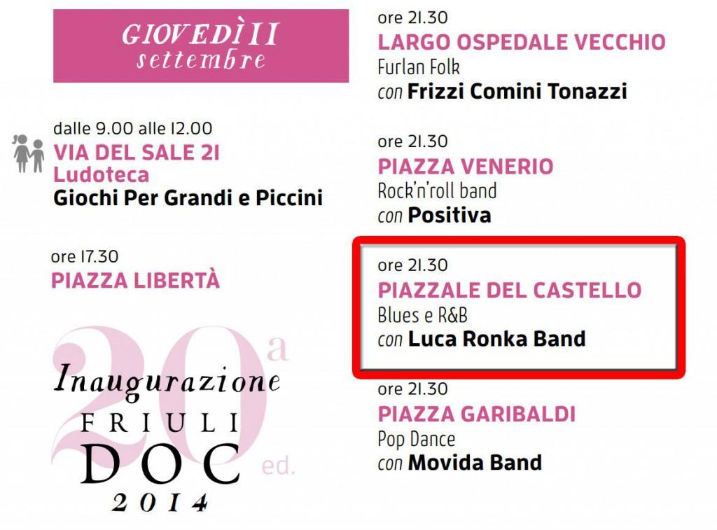 live castello di Udine