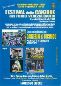 Luca Ronka ospite del Festival della canzone del Friuli Venezia Giulia