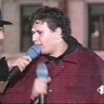 Luca Ronka in Tv al Karaoke Italia 1 con Fiorello