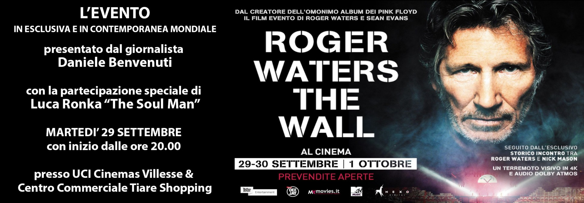 "Luca Ronka @ Roger Waters ""The Wall"""