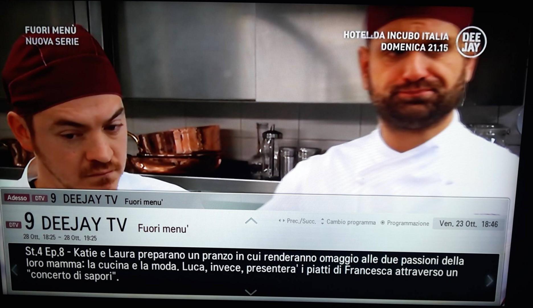 """Il Soul Man Luca Ronka in onda su Deejay TV con il suo """"Concerto di Sapori"""""""